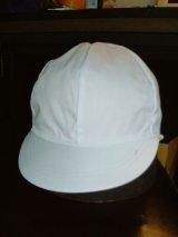 ツイル 男子用 赤白帽子 アゴゴム付き