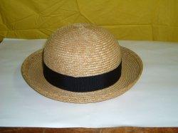 画像1: 麦わら帽子 モットル