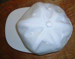 画像4: 白 野球帽 日本製