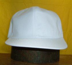 画像1: 白 野球帽 日本製